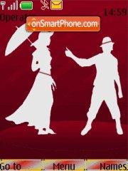 Dance Love theme screenshot