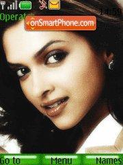 Deepika Padukone Face 2 theme screenshot