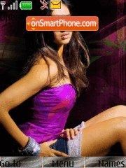 Deepika Purple theme screenshot