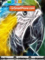 Electric Parrot theme screenshot