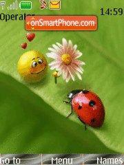 Love Smiley theme screenshot