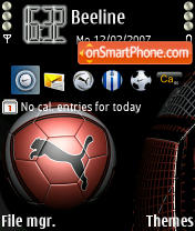 Puma theme screenshot