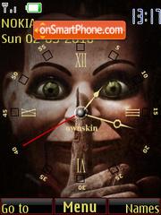 Dead Silence Clock tema screenshot