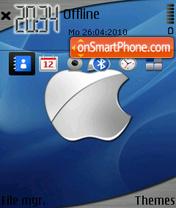 Capture d'écran Apple Cool thème