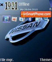 Nissan 02 theme screenshot