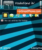 Stripes blue v1.01 theme screenshot