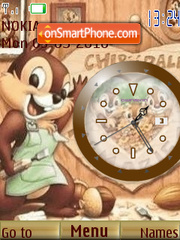 Chip Clock theme screenshot