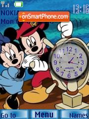 Скриншот темы M n M Clock 2