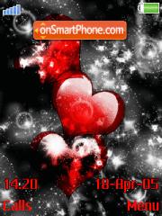 Love Heart Love es el tema de pantalla