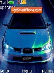 Subaru STI 01 tema screenshot