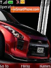 Скриншот темы Nissan GTR 07