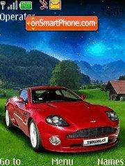 Red Aston Martin theme screenshot