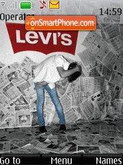 Скриншот темы Levis 03