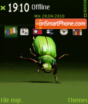 A cockroach theme screenshot