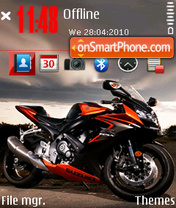 Suzuki Gsxr 1002 theme screenshot