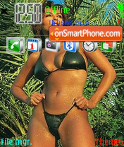 Sabrina Ferilli-02 theme screenshot