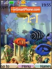 Скриншот темы Animated peces