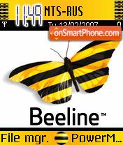 BeeLine tm theme screenshot