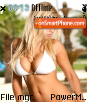 Hot Bikini Girl 01 es el tema de pantalla