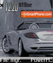 Mercedes Mclaren Slr es el tema de pantalla