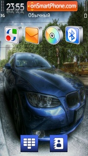 Bmw blue 04 theme screenshot