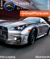 Nissan Gtr 09 theme screenshot