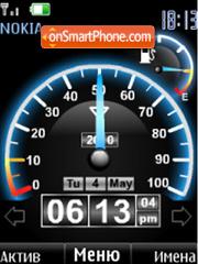Скриншот темы Clock Indicators