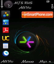 s60 theme screenshot