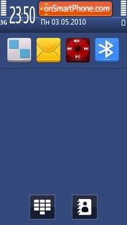Blue days theme screenshot