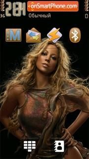 Скриншот темы Mariah Carey 09
