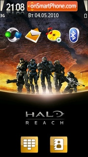 Halo Reach theme screenshot
