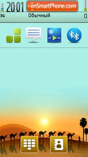 Desert 04 theme screenshot