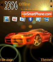 Arty Viper theme screenshot
