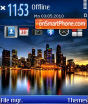Скриншот темы City 06
