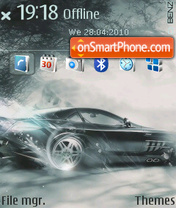 Benz Drift theme screenshot