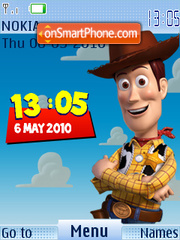 Toy Story theme screenshot