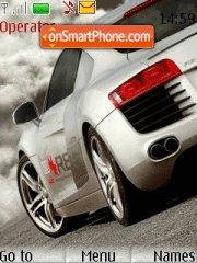 Audi R8 14 theme screenshot