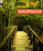 Forest Path es el tema de pantalla