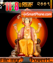 Lalbaugcha Raja 2009 theme screenshot