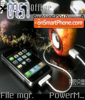 Iphone 09 es el tema de pantalla