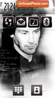 Keanu Reeves tema screenshot
