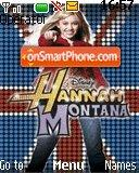 Hannah Montanna theme screenshot
