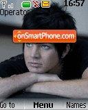 Adam Lambert theme screenshot