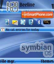 Скриншот темы Symbian OS theme V1