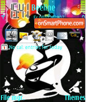 Psy Girl Theme-Screenshot