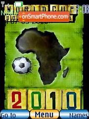 Fifa World Cup 2010 theme screenshot