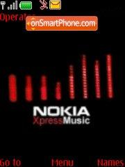Nokia Xpress Music theme screenshot