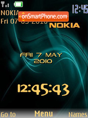 Nokia Flash theme screenshot
