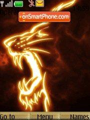 Fire Csk Lion theme screenshot