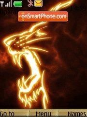 Fire Csk Lion es el tema de pantalla